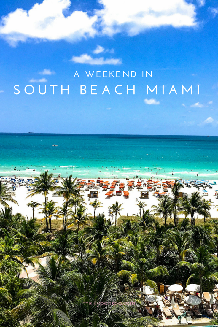 A weekend getaway in south beach miami passport to friday for What to do this weekend in miami