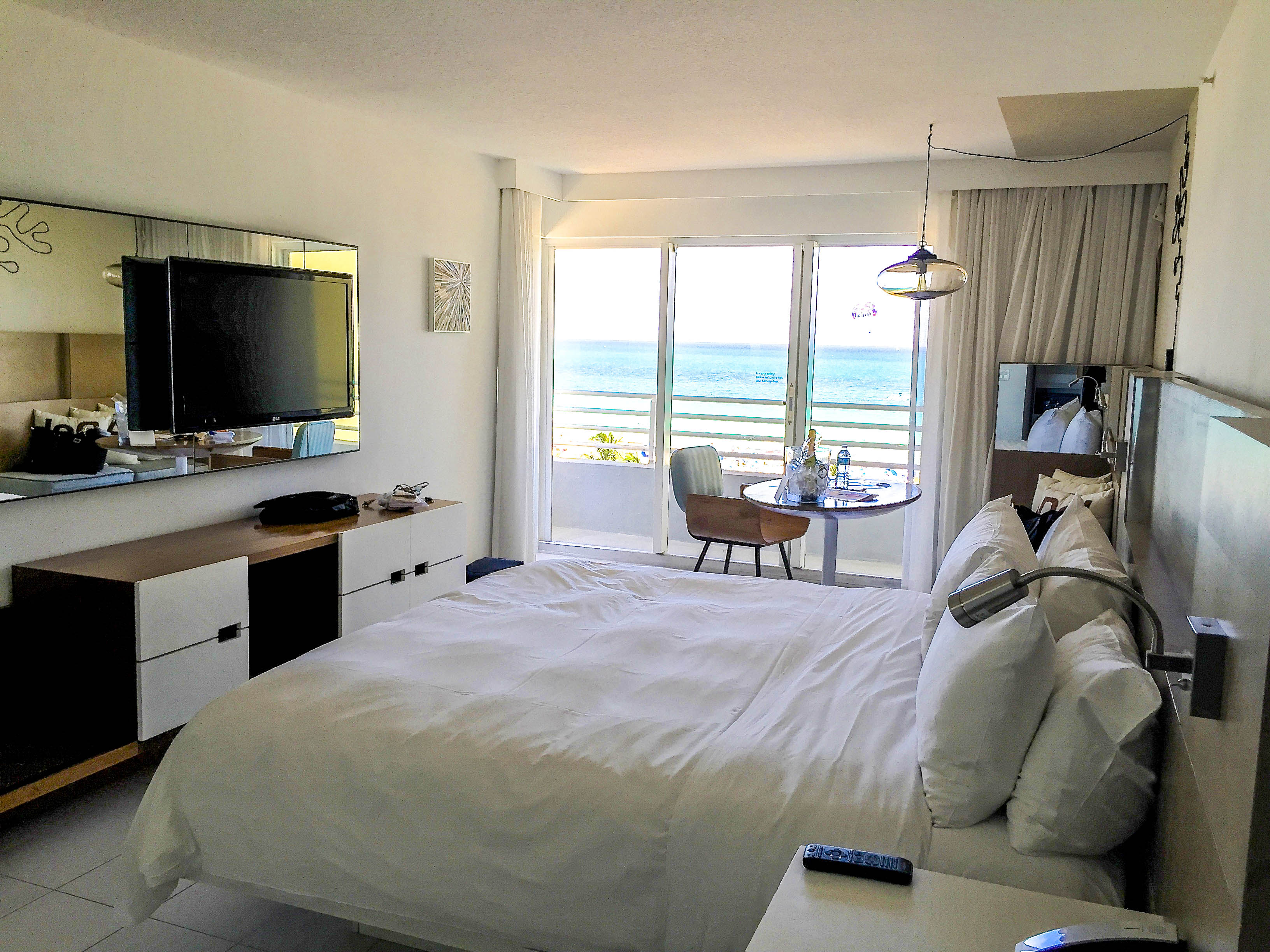 Corner Oceanview Room at Royal Palm South Beach