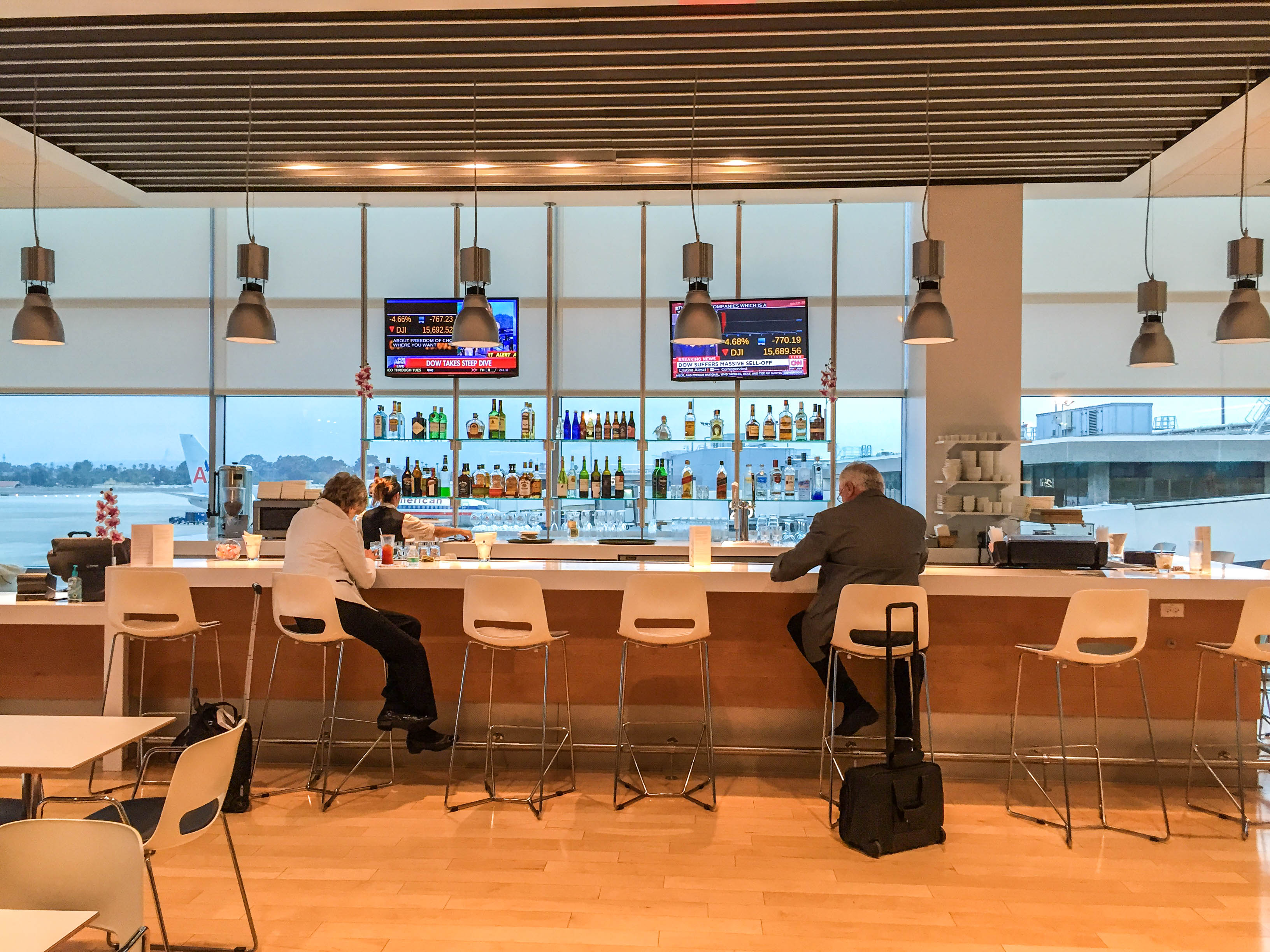 Airspace Lounge at SAN Airport