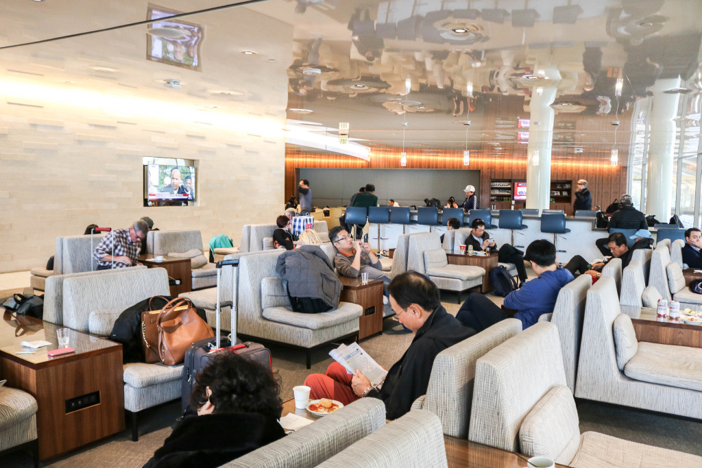 Korean Air Lounge at LAX Airport