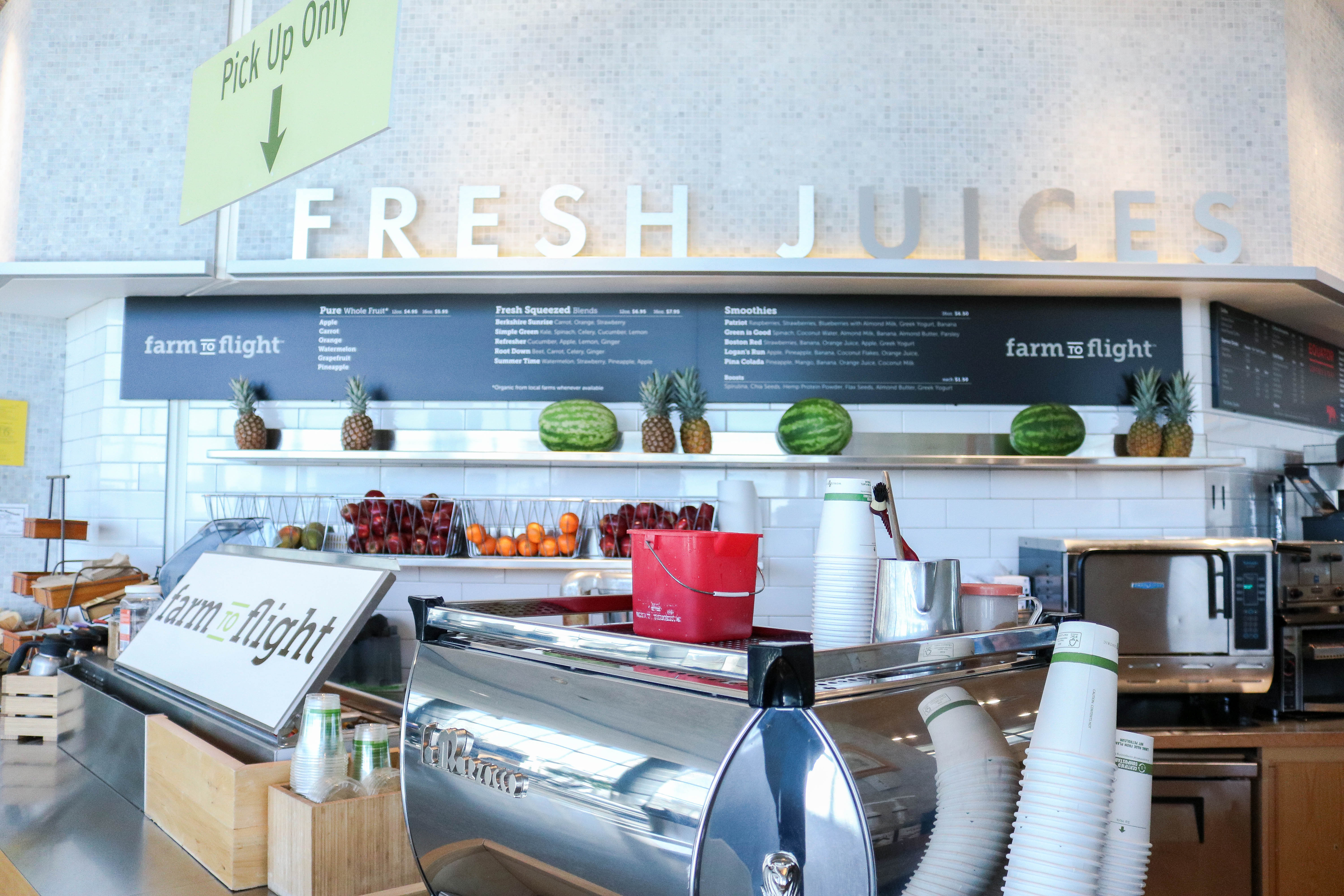 Healthy Eats at Boston-Logan International Airport Terminal B ...