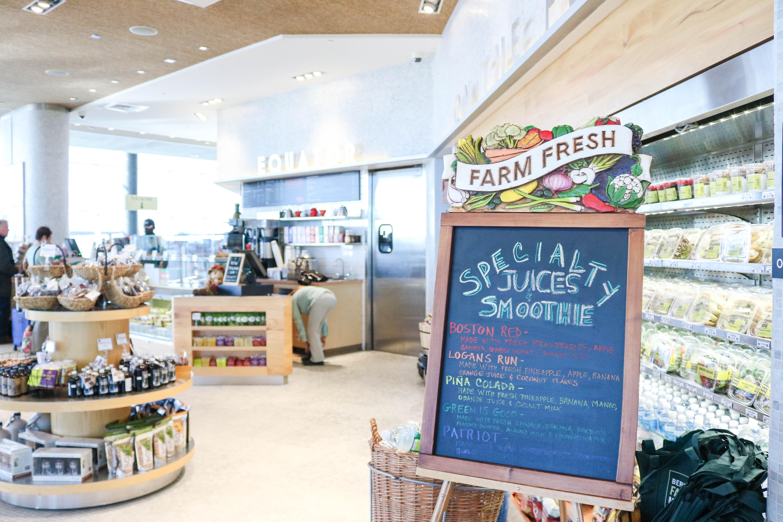 Healthy Eats at Boston-Logan International Airport