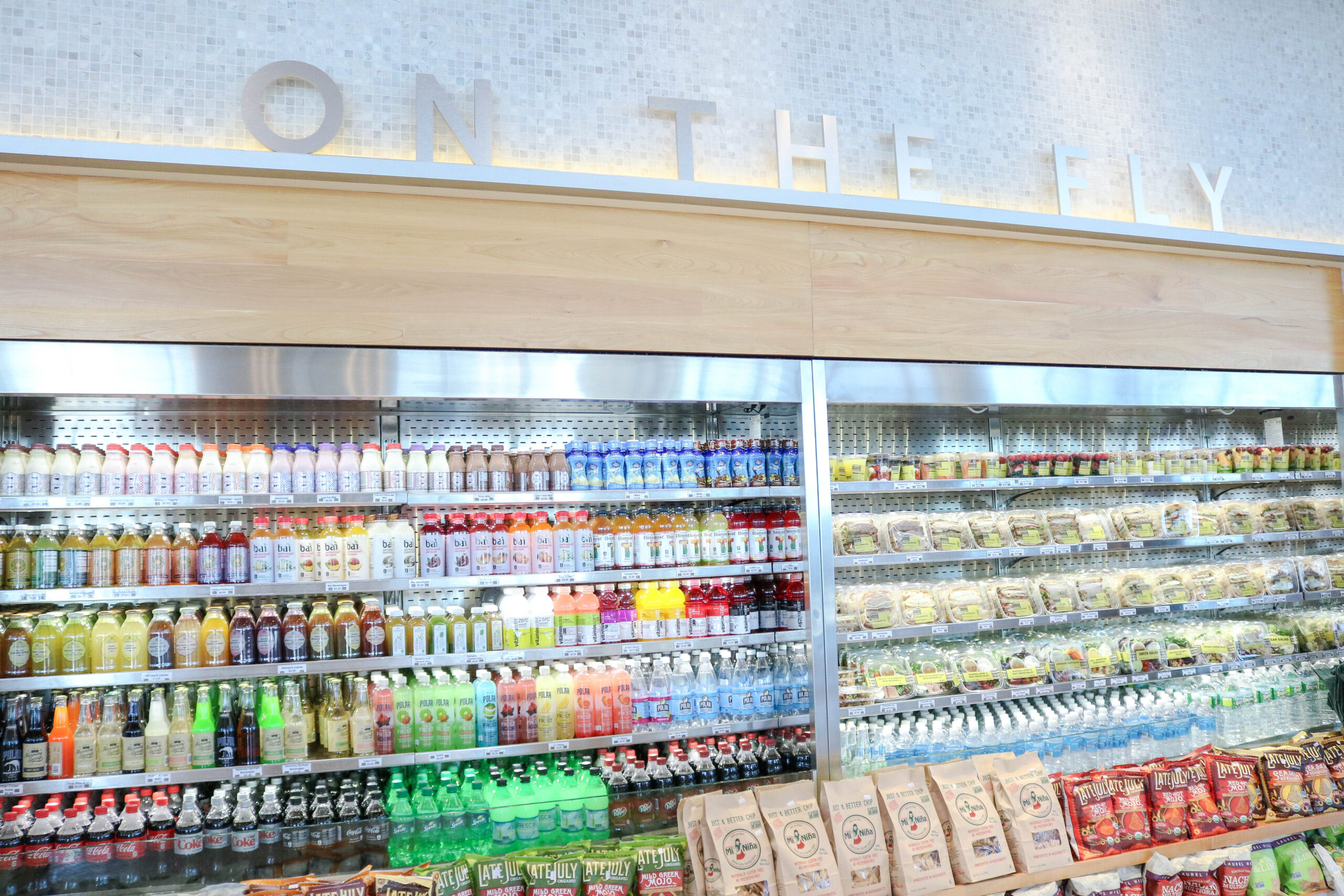 Healthy Eats at Boston-Logan International Airport Terminal B
