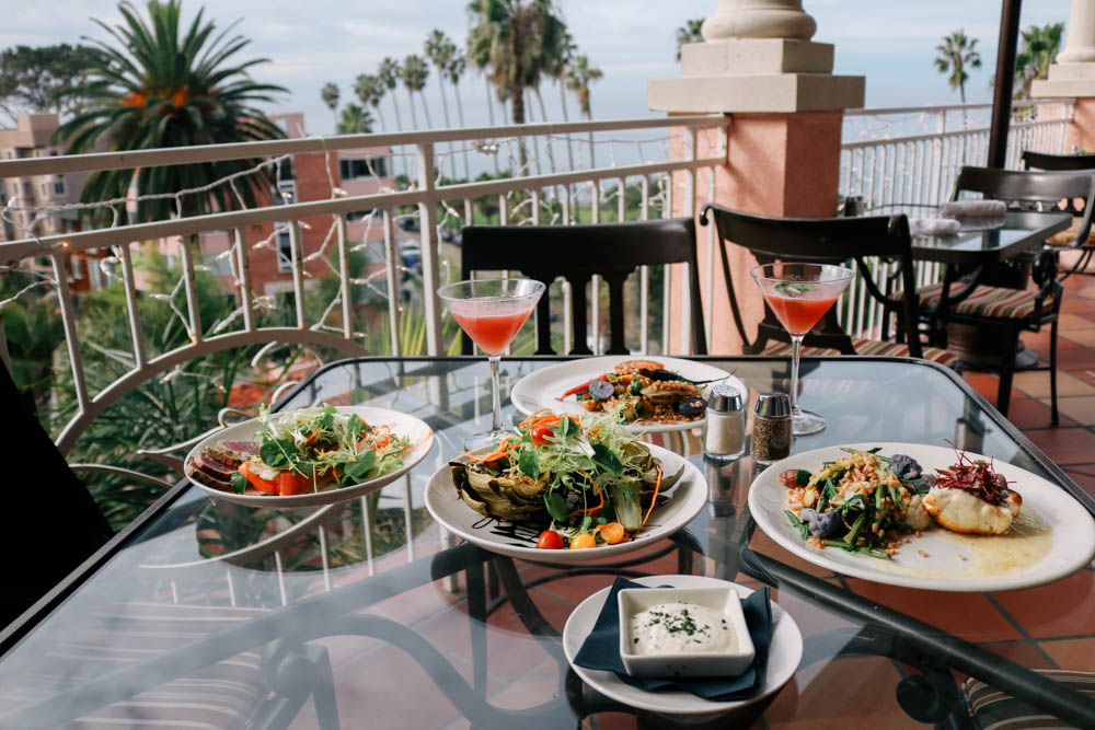 24 Hours at La Valencia Hotel in La Jolla, California