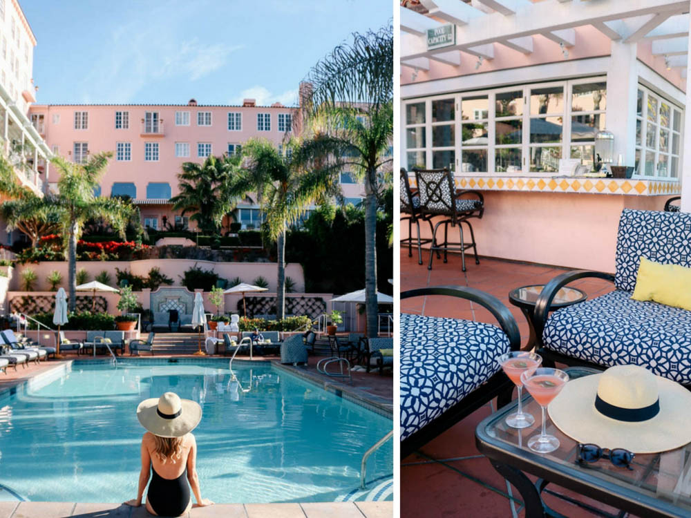 24 Hours At La Valencia Hotel In Jolla California