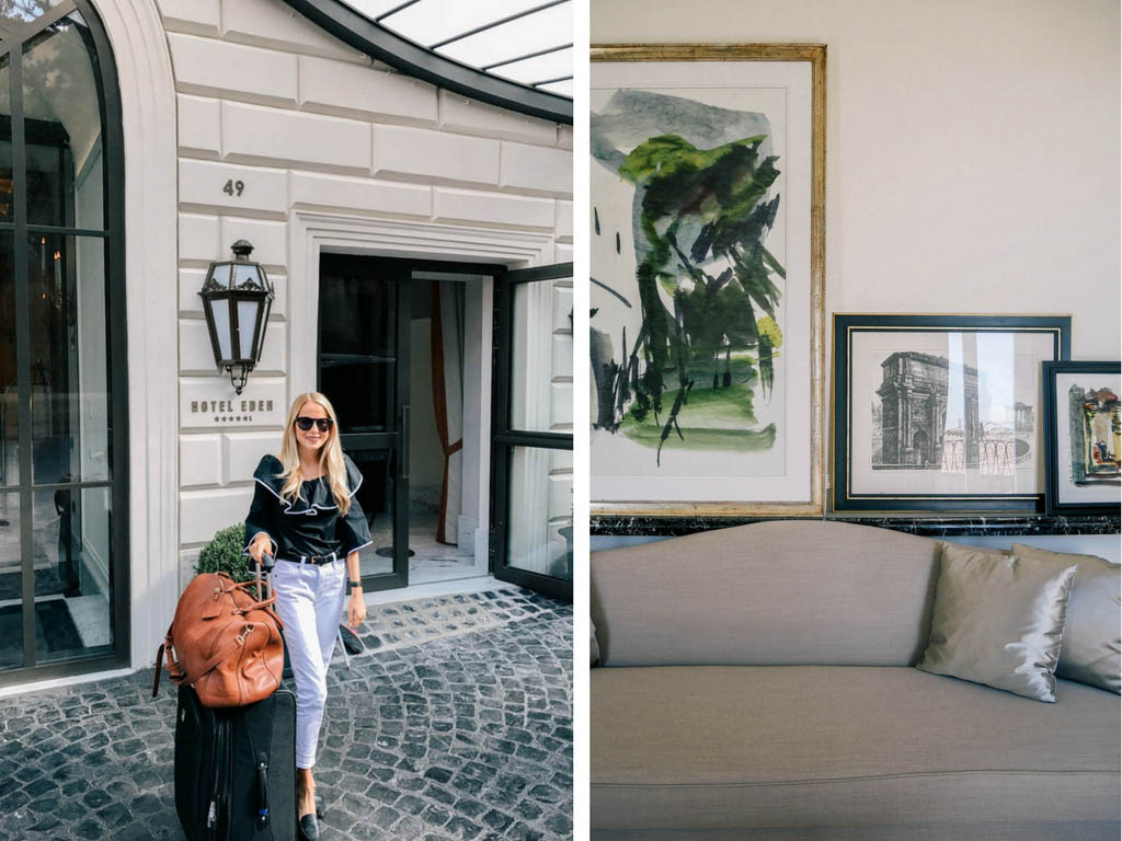 Newly Renovated Hotel Eden In Rome Italy Passport To
